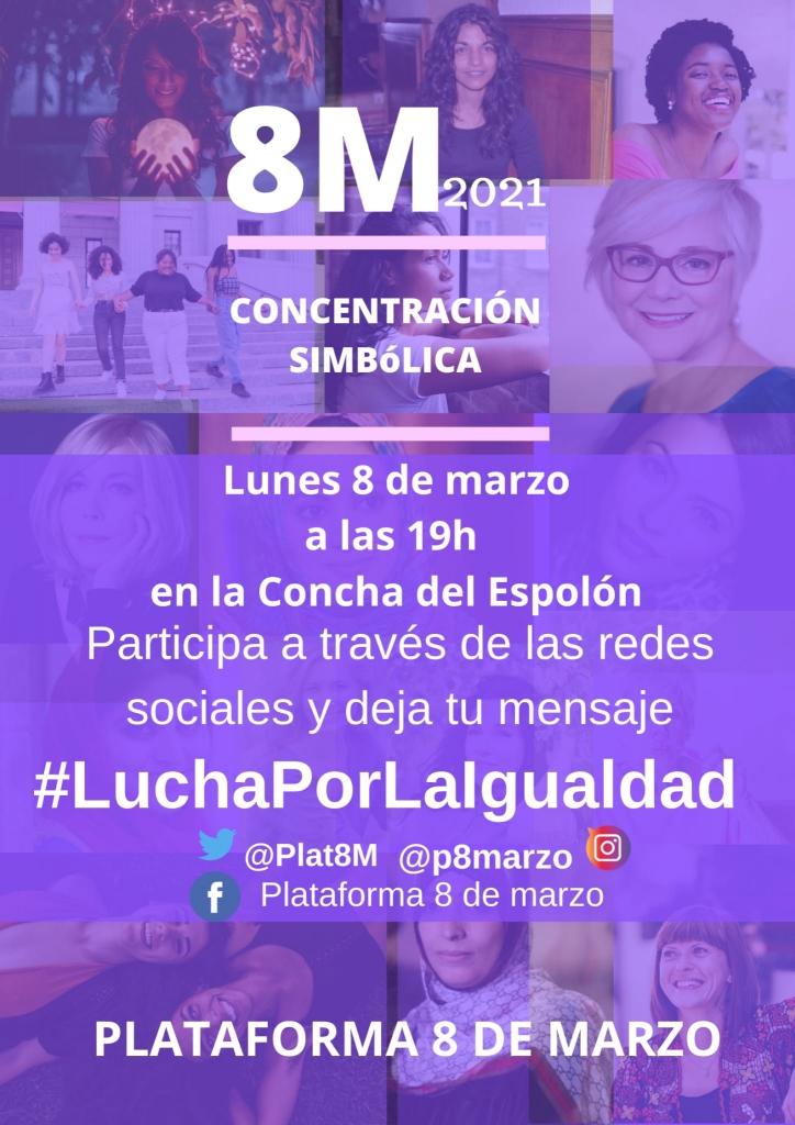 8 de marzo, mujeres, concentración