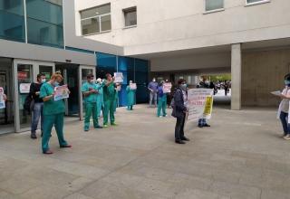 Radiología, concentración, Hospital San Pedro