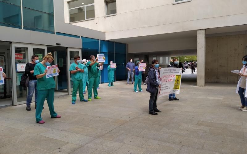 Los profesionales de Radiología del SERIS, hartos de que la presidenta del Gobierno rehúse recibirles, intensificarán sus protestas