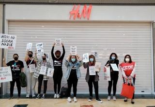 H&M, huelga, cierre