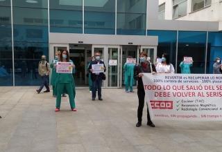 concentración , Radiología, Hospital San Pedro