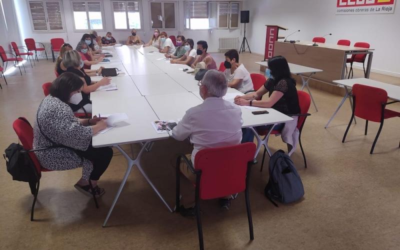 El sector de ayuda a domicilio en CCOO alerta de sus pésimas condiciones de trabajo