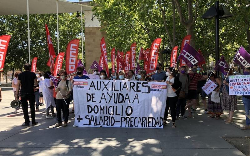 La Ayuda a Domicilio reclama que las administraciones mejoren las licitaciones para acabar con la precariedad de las trabajadoras