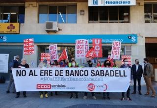 concentracion banco sabadell 08-10-21